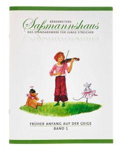 Bärenreiter Sassmannshaus Geige 1 Foto