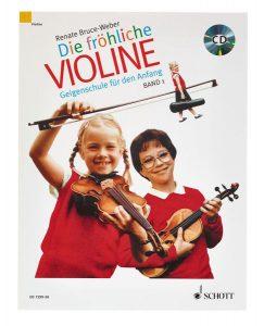 Schott Die Fröhliche Violine Vol.1+CD Foto