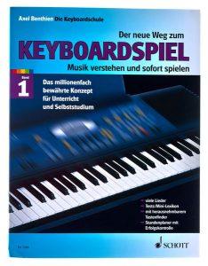 Axel Benthien Der neue Weg zum Keyboardspiel Foto