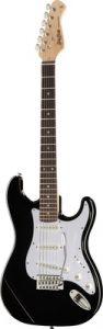 Harley Benton ST-20 BK E-Gitarre Foto