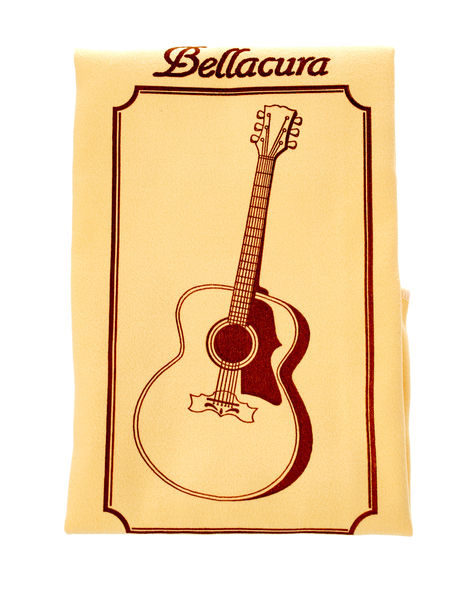 Bellacure Microfibre Cloth Guitar Foto
