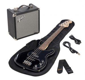 Fender Squier Affinity PJ Bass Pack BLK Foto