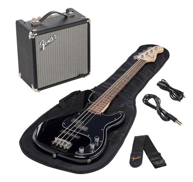 Fender Squier Affinity PJ Bass Pack BLK