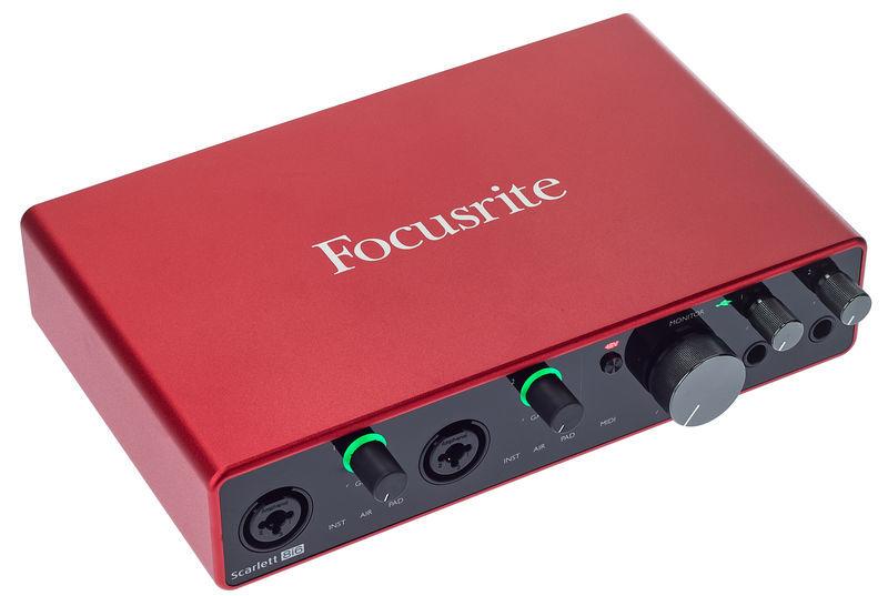 Audio Interface Foto