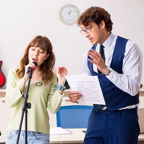 Gesangsunterricht