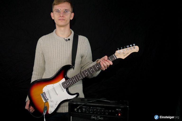 Deine erste E-Gitarre – Das Harley Benton G2 Set