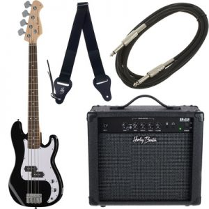 Harley Benton PB-Shorty BK Standard E-Bass Set 1 Foto