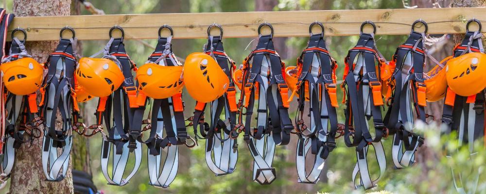 Kletterausrüstungen