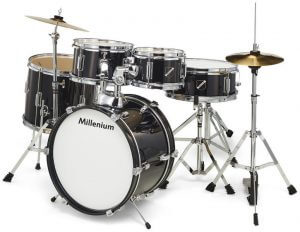 Millenium Focus Junior Drum Set Black Foto