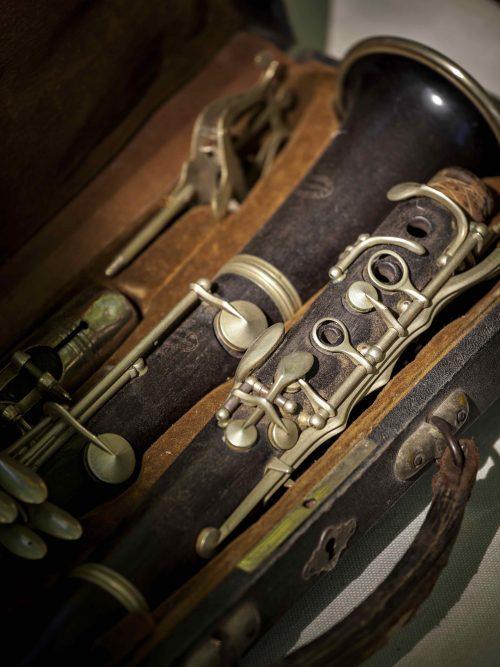 Sehr alte Klarinette