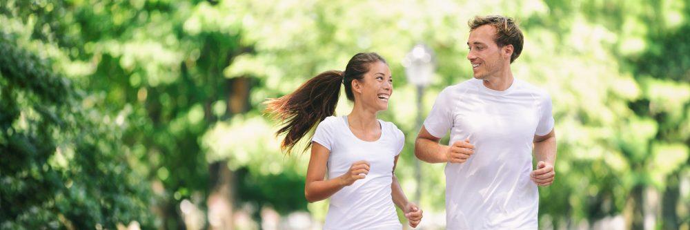 Spaß am Laufen ist das A und O