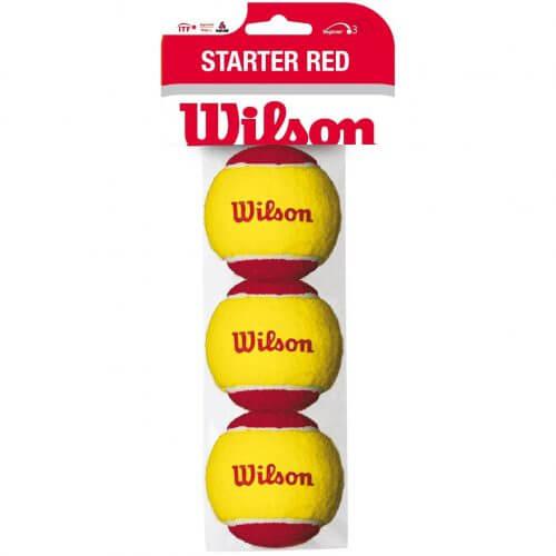 Wilson Starter Balls (Stage 3) 3er Beutel Foto