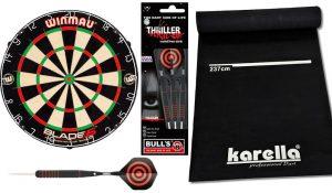Winmau, Bull's und Karella Dartboard-Set Foto