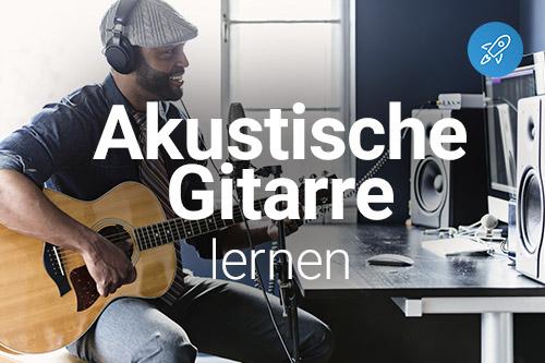 Akustische Gitarre online spielen lernen
