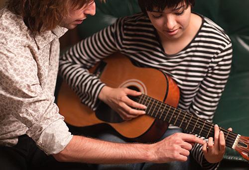 Gitarre lernen als Einsteiger