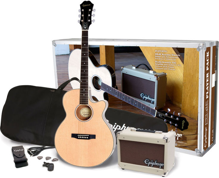Epiphone Pr4e Acoustic Playerpack
