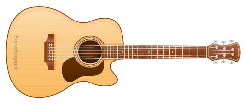 Grand Auditorium Gitarre