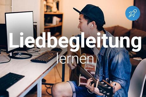 Liedbegleitung mit Gitarre online lernen