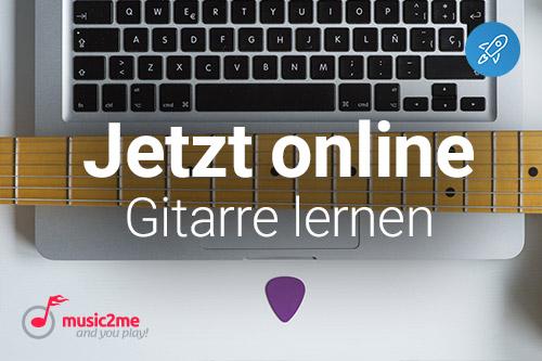 Gitarre online lernen mit music2me