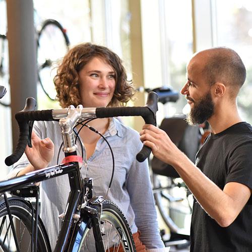 Rennrad im Handel kaufen