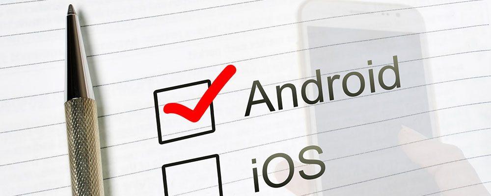 Für Einsteiger ist Android als Betriebssystem besonders zu empfehlen.