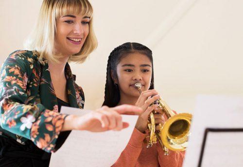 Trompeten Unterricht nehmen